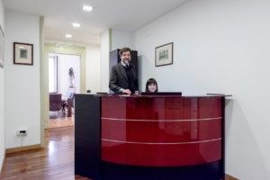 Studio Legale Messina entrata studio